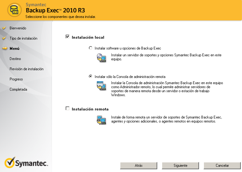 ThinApp BackupExec 2013 R3