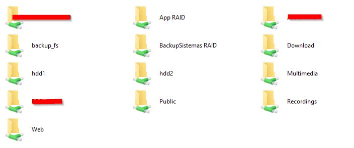 QNAP TS-412 dejan de funcionar recursos de red con Windows 10 - Alex