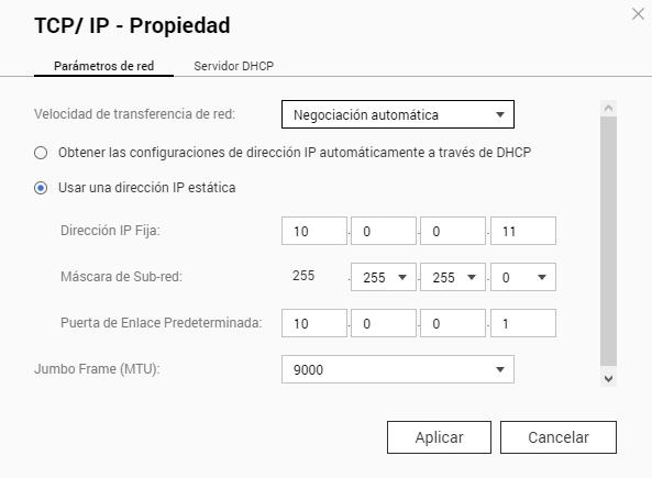 QNAP TS-412 dejan de funcionar recursos de red con Windows